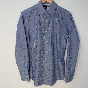 Banana Republic Pinstripe Non-Iron Dress Shirt